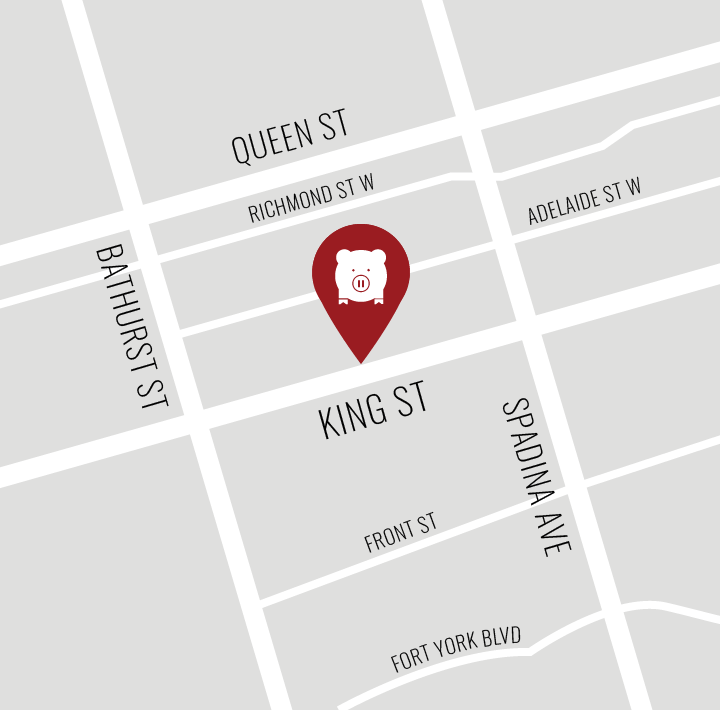 Map of Porchetta & Co. (King St West location)