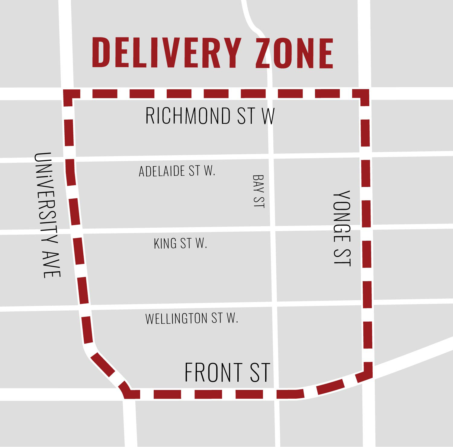 Our Delivery Zone