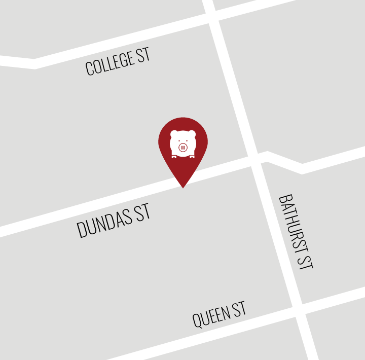 Map of Porchetta & Co. (Dundas St West location)
